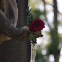 Grabstein auf dem Alten Südlichen Friedhof in München