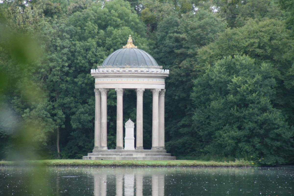 Pavillon im Schlosspark Nymphenburg