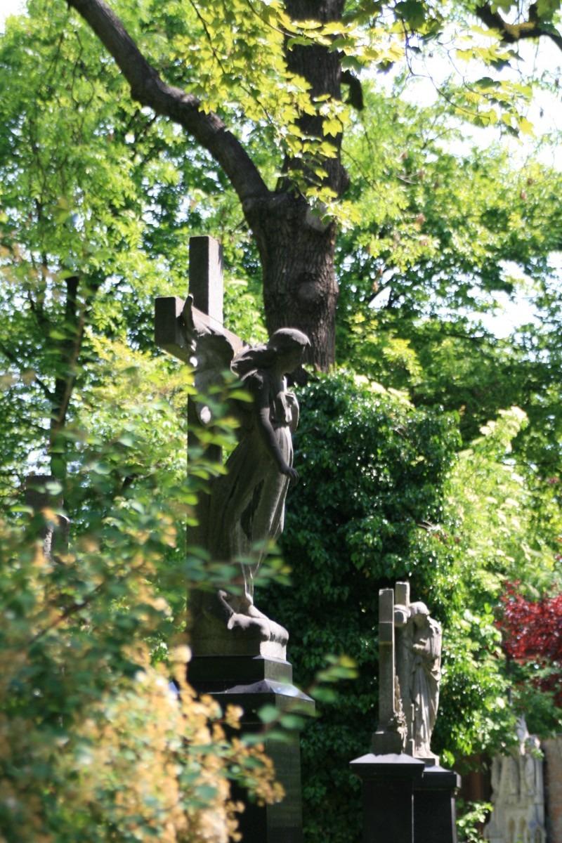 Engelchen auf dem Alten Südlichen Friedhof
