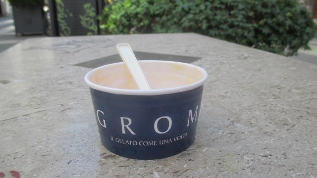 Lecker Eis von Grom