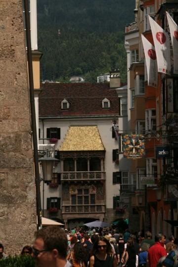 Das Goldene Dach ins Innsbruck