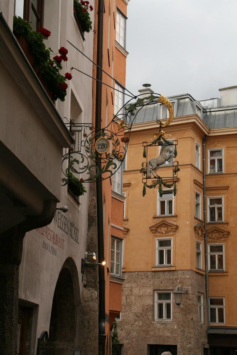 Das weiße Rössl in der Innsbrucker Altstadt