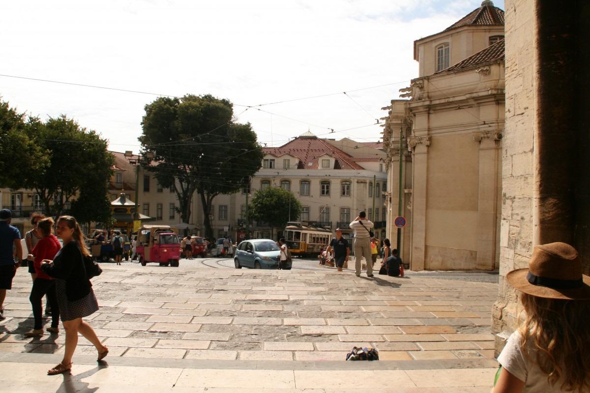 Platz vor der Cathedrale Se