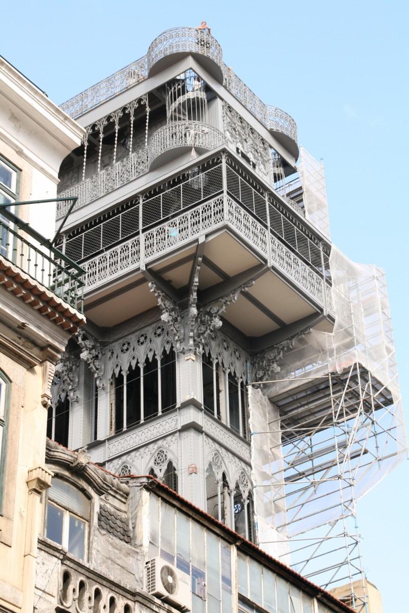 Elevator Santa Justa Lissabon