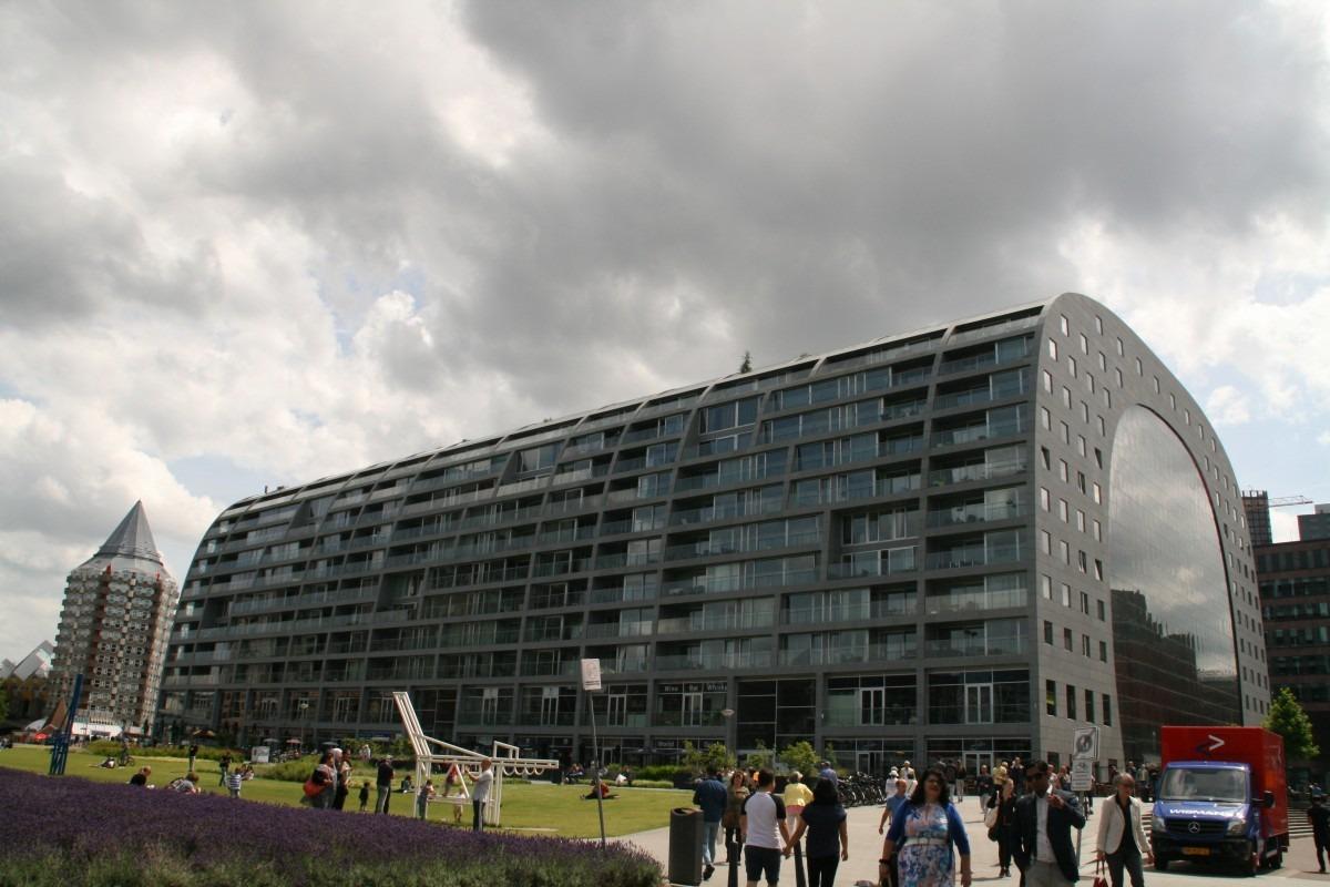 Wohnungen in der Markthal Rotterdam, Hamburg