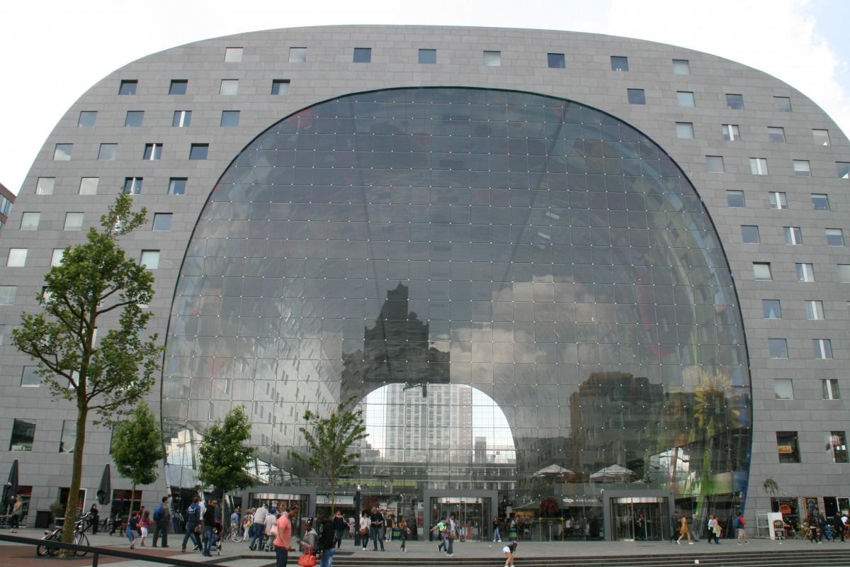 Markthal Rotterdam, Hamburg