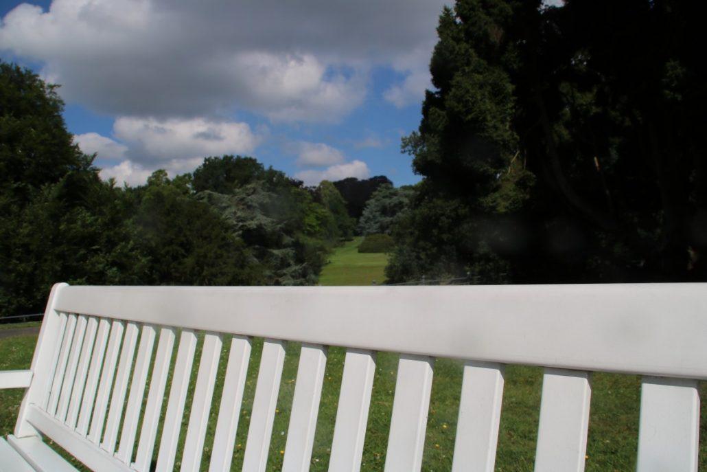 Park der Villa Hügel