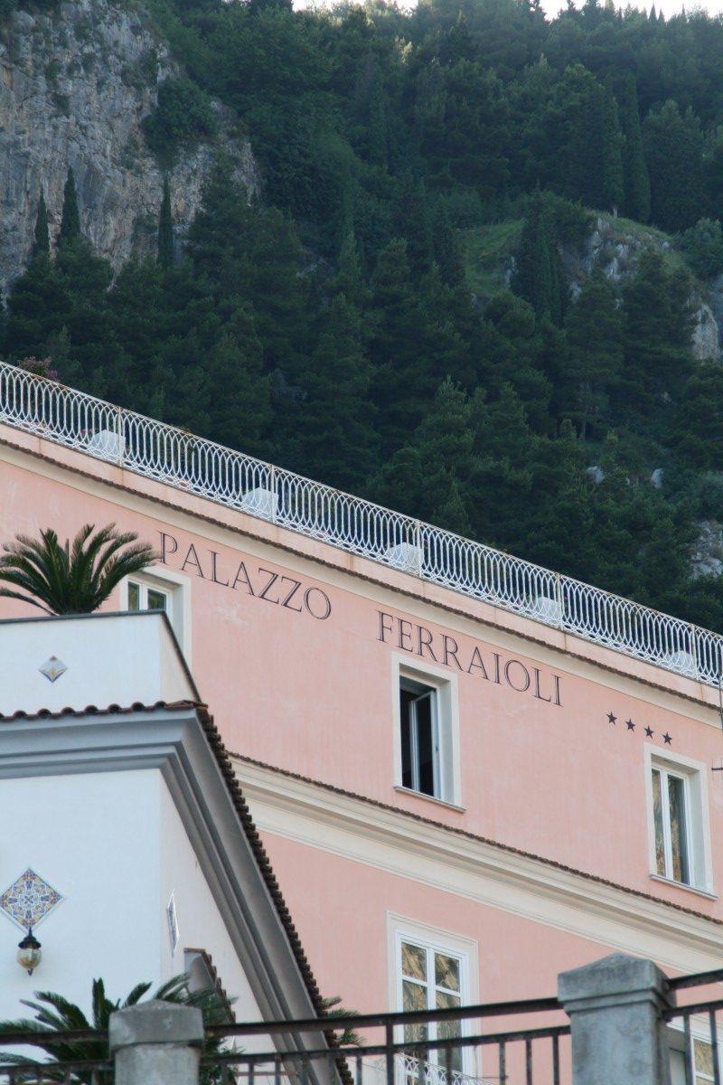 Teilansicht Palazzo Ferraioli