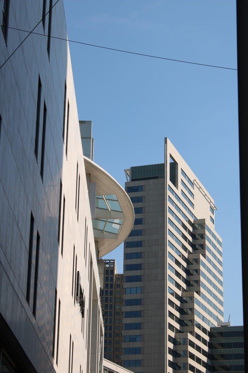 Fassade von Hudson's Bay in Rotterdam