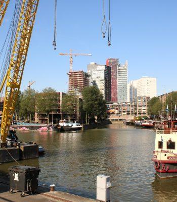 Museumshafen – Leuvehaven – in Rotterdam