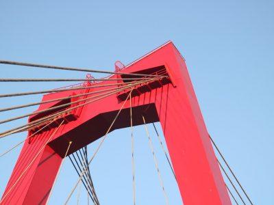 Pfeiler der Willemsbrug