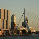 Skyline von Rotterdam-Kop van Zuid