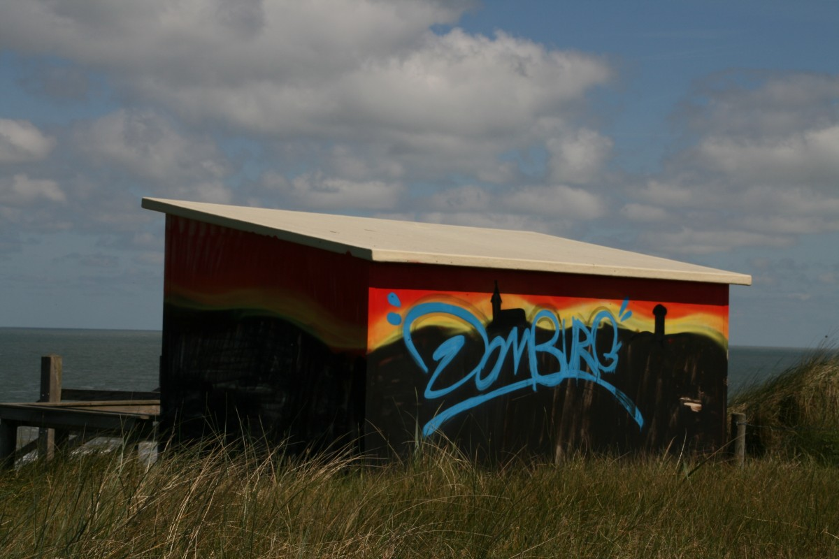 Strandhäuschen in Domburg, Zeeland