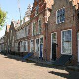 Fassadenansicht in Veere, Domburg