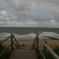 Zugang zum Strand in Domburg, Zeeland