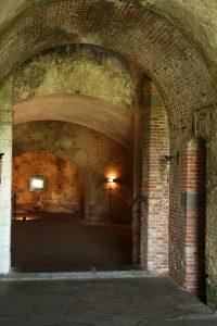 Gewölbe im Fort Rammekens