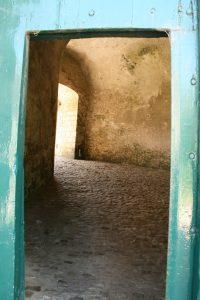 Eingang zum Fort Rammekens, Zeeland