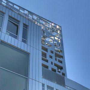 Moderne Fassade in La Défense