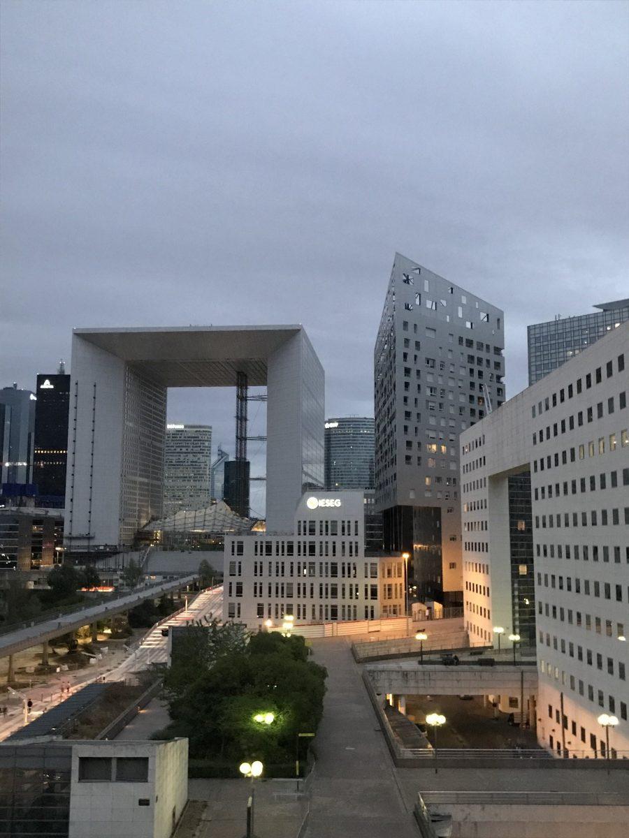 Abendstimmung in La Défense