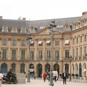 Place Vendome in Paris