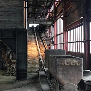 Kohlenwäsche Schacht 12 auf dem Gelände der Zeche Zollverein in Essen