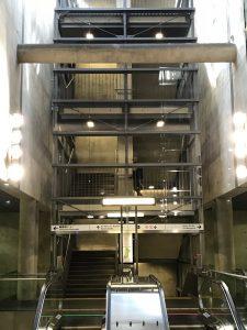 U-Bahn Haltestelle Heumarkt in Köln