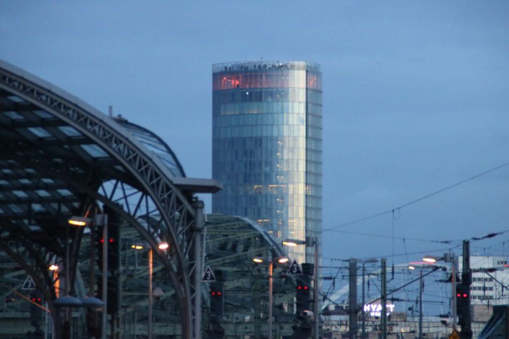 KölnTrianglePanorama mit Aussichtsplattform