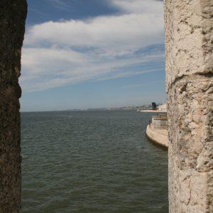 Aussicht vom Torre de Belém, Lissabon