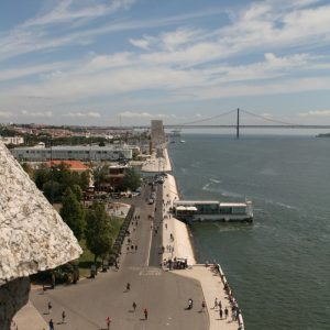 Blick vom Torre de Belém