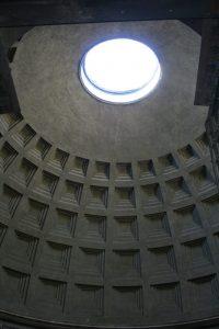 Kuppel im Pantheon von Rom