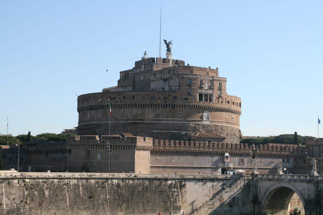 Castel San't Angelo - die Engelsburg in Rom