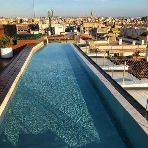 Dachterrasse mit Pool Hotel Nakar in Palma de Mallorca