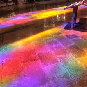 fantastische Farben in der Kathedrale von Palma