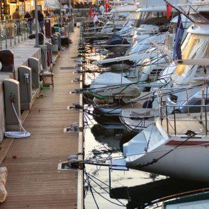Yachten im Hafen von Palma
