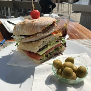Lecker Sandwich in Palma