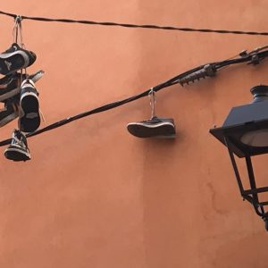 Shoefiti in Palma