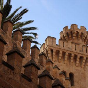 Palma de Mallorca – Turm des Palacio La Almudaina