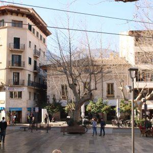 Placa Constitución in Sóller