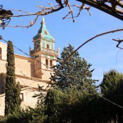 Blick auf die Klosterkirche Valldemossa