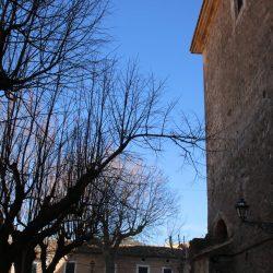 blauer Himmel in Valldemossa