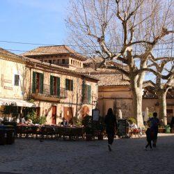 Platz in Valldemossa