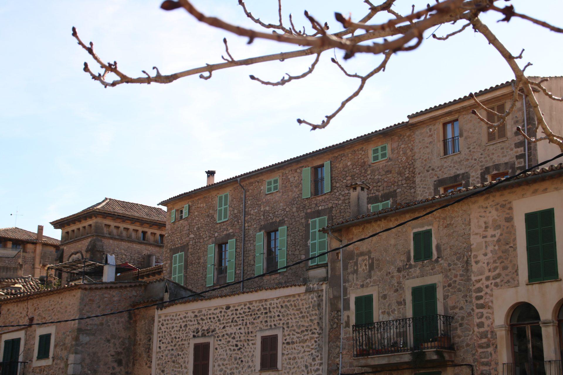 Häuser in Valldemossa