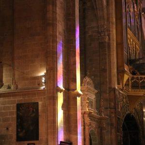 Lichtspiele in der Kathedrale von Palma