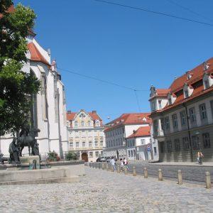 Domplatz in Augsburg