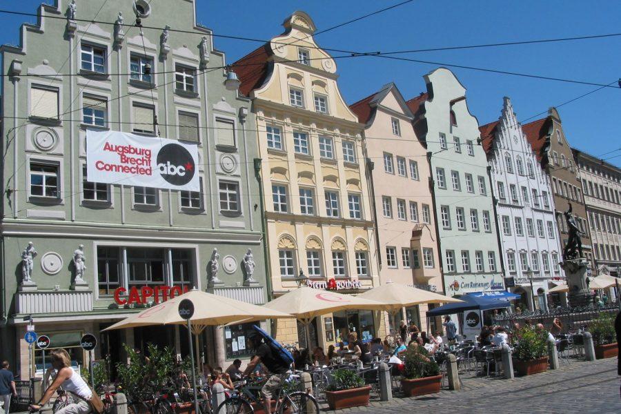 Moritzplatz Augsburg Maximilianstraße