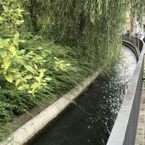 Kanal in Augsburg