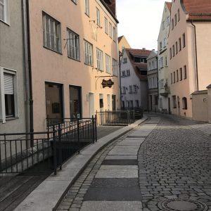 Gasse in Augsburg