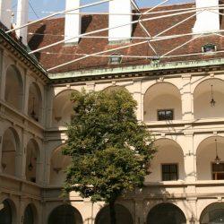 Gebäude der Spanischen Hofreitschule in Wien