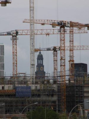 Baustelle-in-der-HafenCity-Hamburg