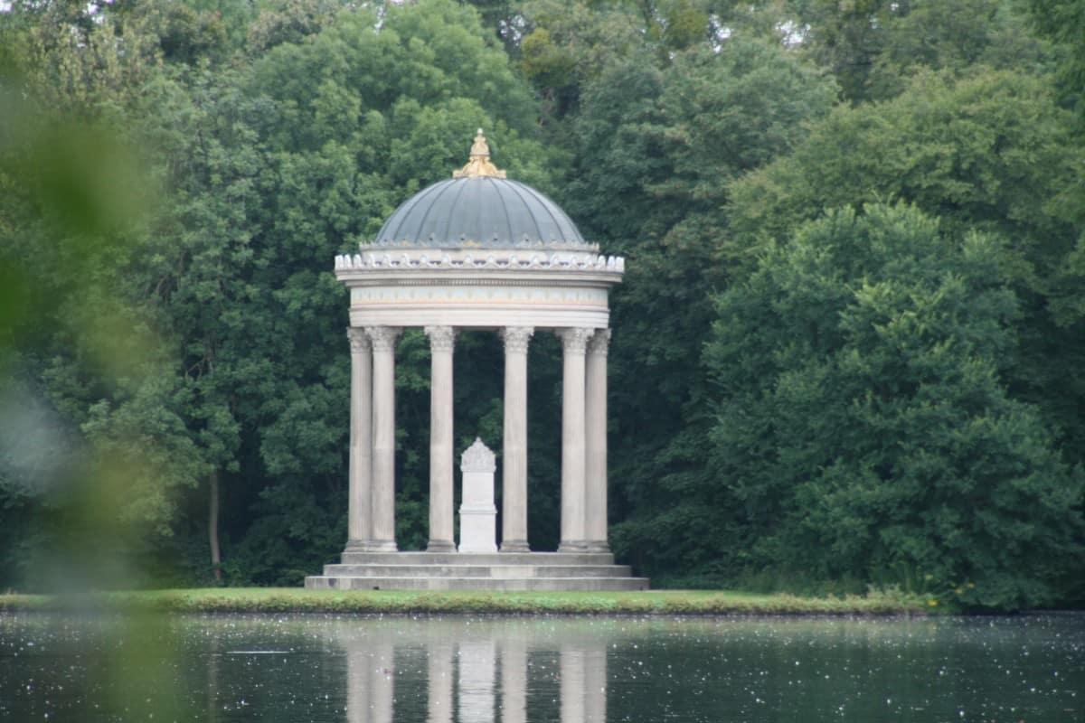 Brücke Schlosspark Nymphenburg